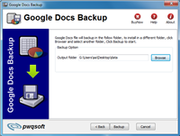 google file backup